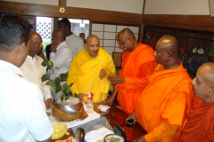 Deliverance of a sapling of the sacred Jaya Sri Maha Bodhi to Muryokoin Temple, Koya, Wakayama, Japan on 03rd June 2017. Atamasthanadhipathi Dr. Pallegama Sirinivasa Nayaka Thero participated this function as a Chief Guest .